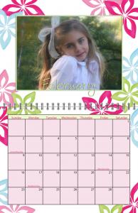 Scrolls Spiral Calendar for 2014