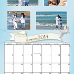 Banner 11x17 Simplex Calendar for 2014