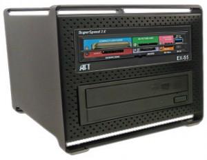 ATech Kiosk Superspeed USB 3.0 MK-5.3 Kiosk Reader + DVD-RW (Black)